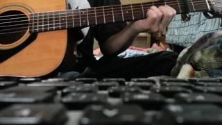 ギターだけだよ!カラオケにでもしてね。 どうしてもはやくなっちゃう.