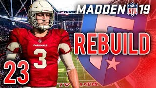 Madden 19 Franchise Rebuild Ep.23 With the drafting of Lester Phelp...
