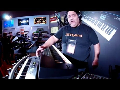 Roland Juno DS Overview With Ed Diaz