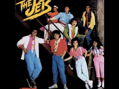 The Jets - Crush On You (Lyrics)