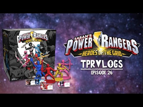 TPRVlogs #26: Discussion of | Thoughts on Power Rangers: Heros of the Grid