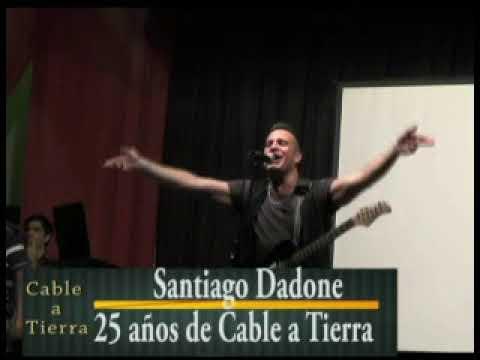 Santiago Dadone en los 25 años de Cable a Tierra