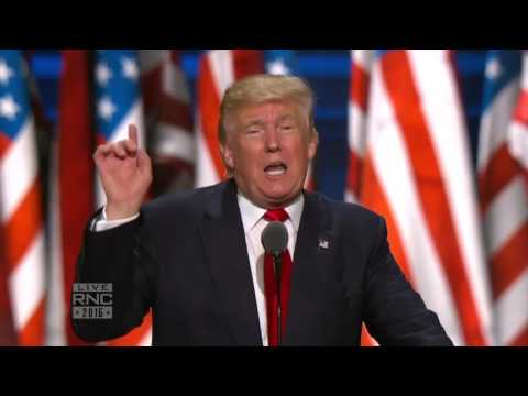 My Sole and Exclusive Mission | Donald J Trump | 2016 Republican National Convention