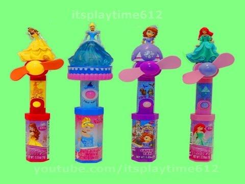 Disney Princess Candy Fans Cinderella Light & Sound Wand - itsplaytime612