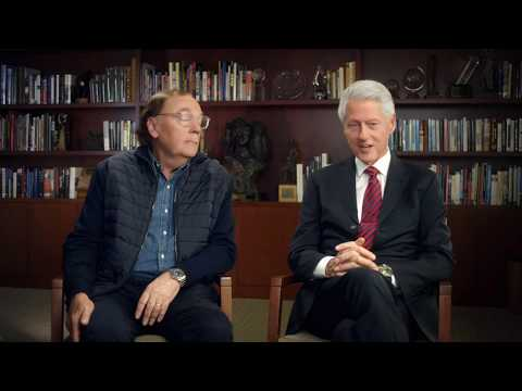 Exclusive Interview: James Patterson and President Bill Clinton Discuss THE PRESIDENT IS MISSING