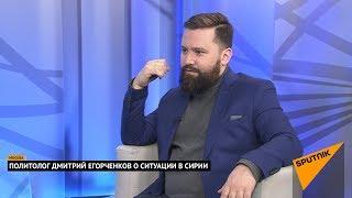 Политолог Дмитрий Егорченков о ситуации в Сирии. Выпуск от 24.04.2018