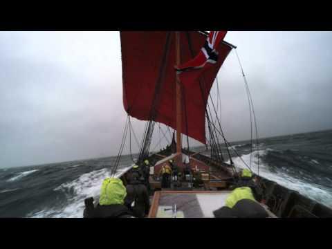 North Sea sailing with Draken Harald Hårfagre