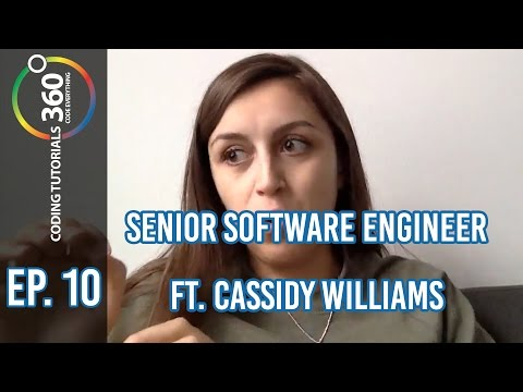 Senior Software Engineer: ft. Cassidy Williams Behind the Code Ep. 10