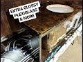 "Mikes EPIC EMF Banhammer 15"" Box - Glossy Ebony Stain - Plexiglass Window - White Painted Interior"