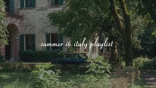 it's summer 1983, you fell in love somewhere in northern italy