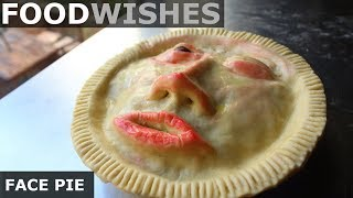 Face Pie - Halloween Meat Pie - Food Wishes