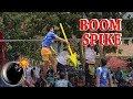 Boom Spike !! Aksi spike pemain tarkam paling JEDUG !