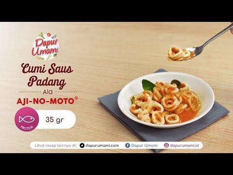 Dapur Umami - Cumi Saus Padang Ala AJI-NO-MOTO®