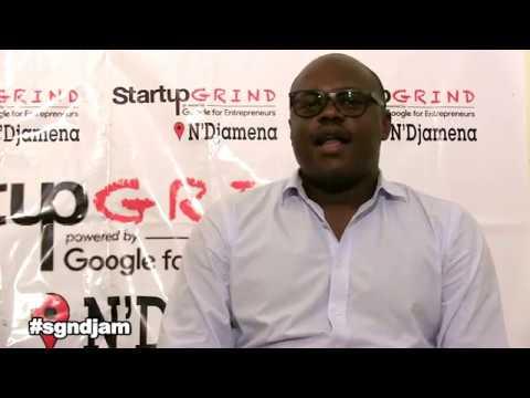 Startup grind N'djamena accueille Mamadou Djimtebaye Mahamat fondateur de Tchadinfos.com