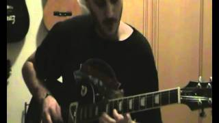 GENESIS-FIRTH OF FIFTH GUITAR SOLO COVER