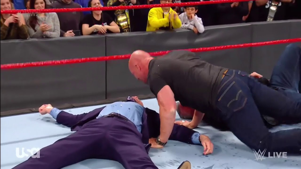 Stone Cold Goes Stunner Crazy On McMahon Family