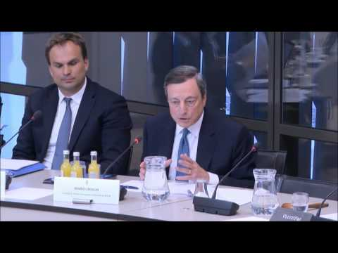 ECB President Mario Draghi Q&A with EU critic Thierry Baudet