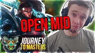 THIS IS WHY I SHOULD PLAY YASUO MORE...? - Journey To Masters #51 S7 - League of Legends