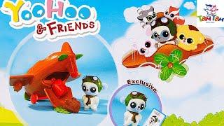 Открываем Игровой набор «Юху. Самолетик» YooHoo and Friends toys unboxing