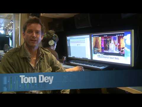 Tech Talk: Director Tom Dey recording Fergie on the Lennon Bus for his next film, Marmaduke