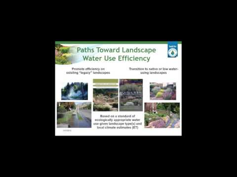 EPA WaterSense/AWE Partnership Webinar - Consumers  Attitudes Toward Water Efficient Landscapes