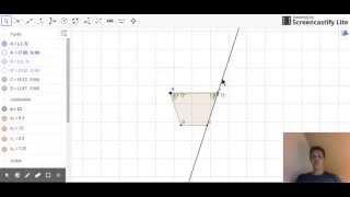5 Sådan tegner man en trapez i Geogebra