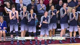 Highlights from uconn women's basketball win at south carolina on monday, february 8th, 2016 in colombia, sc.