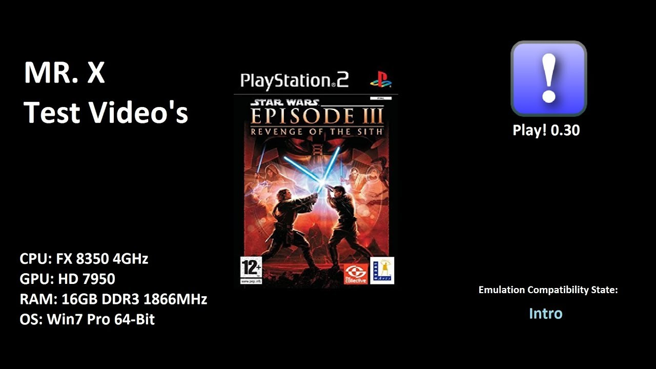 Play 0 30 D065c344 Star Wars Episode Iii Revenge Of The Sith Intro Test Video Youtube