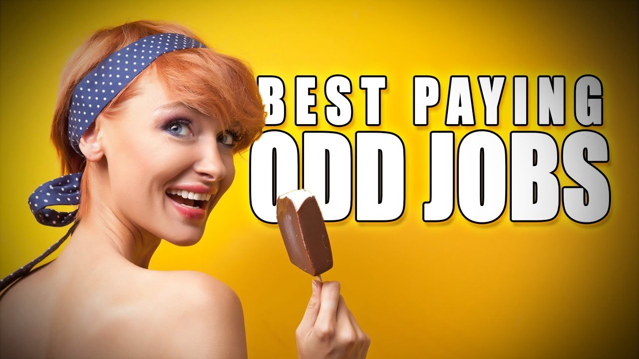 10 weird jobs that pay super well - sourcefed