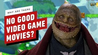 Why Are There No Good Video Game Movies?