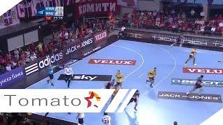 EHF CHAMPIONS LEAGUE 2014/15 Matchday 3 VARDAR - RHEIN NECKAR LOWEN 12 10 2014