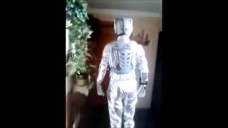 Cyberman costume 2 with sound effects