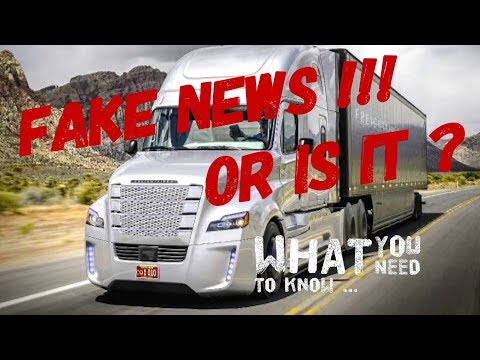 Autonomous Driverless trucks. Who's helping to silently fund  this  and why ?