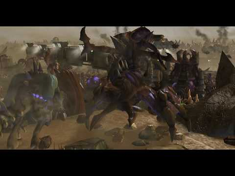 Incredible StarCraft 2 Battle Cinematic