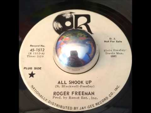 Roger Freeman - All Shook Up - Soul Dancer