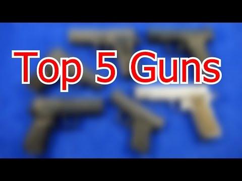Top 5 Guns For 2017 (HD)
