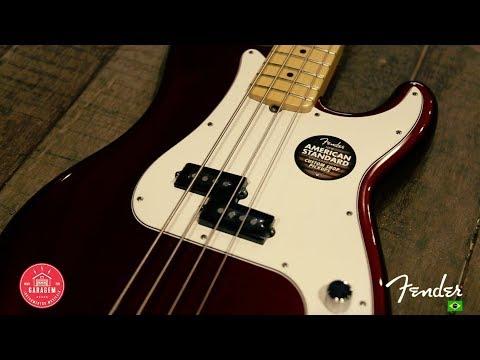 Review Fender Precision Bass American Standard