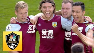 Jeff Hendrick equalizes for Burnley in stoppage time against Brighton | Premier League | NBC Sports