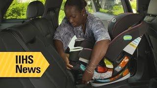 Installing child restraints is getting easier - IIHS News