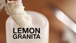 Lemon Granita Recipe • ChefSteps