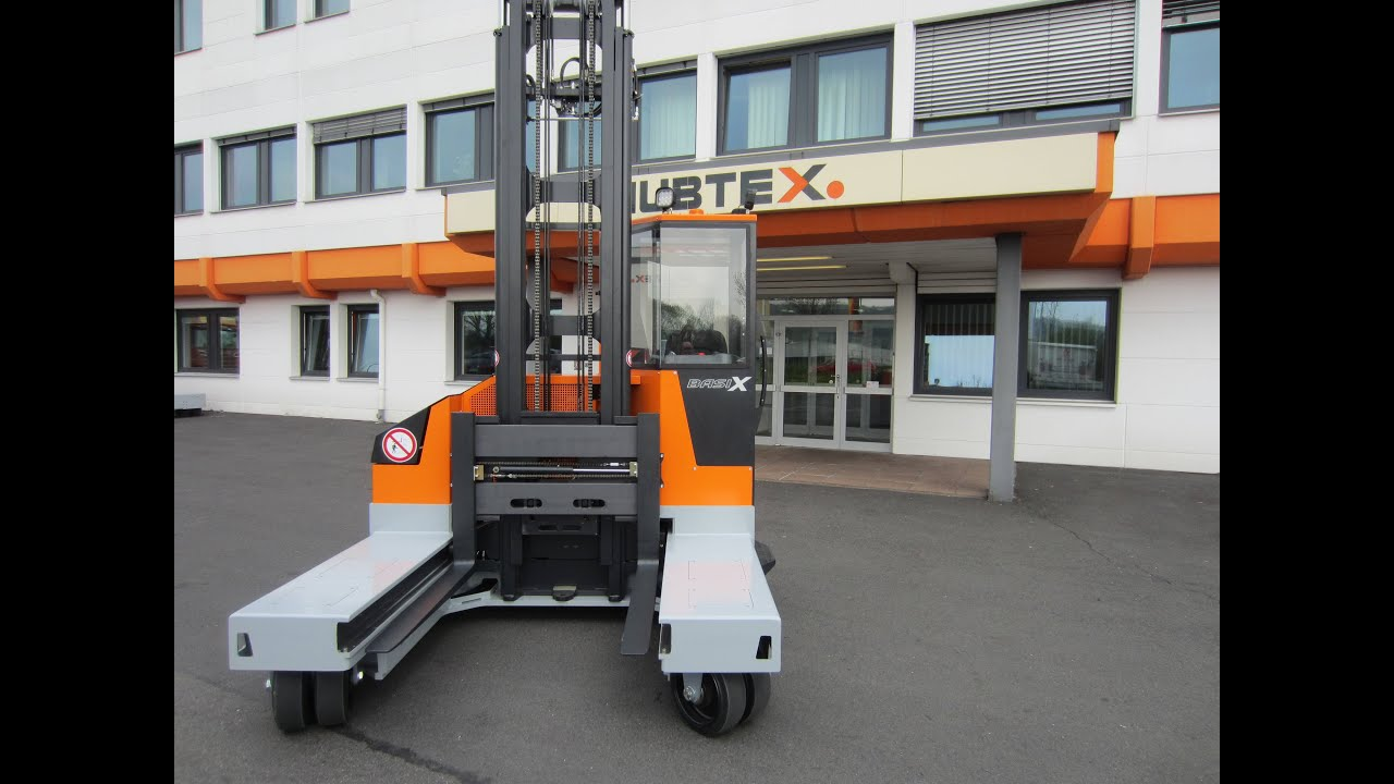 Hubtex Electric Multidirectional Sideloader Dq 30 E Youtube