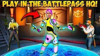 *NEW* BATTLEPASS HQ MAP!! - Fortnite Funny Fails and WTF Moments! #920