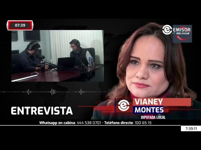 Vianey Montes, nueva presidenta de la Mesa Directiva del Congreso de #SLP