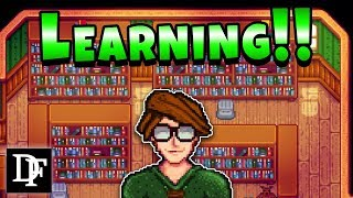 Reading Library Books! - Stardew Valley