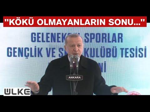 Cumhurbaşkanı Erdoğan: ''Varsın eleştirsinler, biz işimize bakalım...''