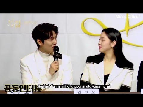 [SUB INDO] Press Conference Lee Min Ho 이민호 & Kim Go Eun 김고은 | The King Eternal Monarch Sub Indo