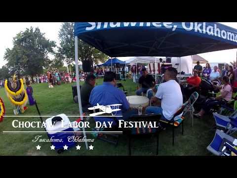 Choctaw Nation's Labor Day Festival 2017: Full Dress Dance