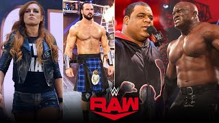 SURPRISE RETURN on Raw After Backlash 2021 WWE Raw 17 May 2021 Highlights Keith Lee Returns