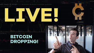 LIVE: Bitcoin Drops to $10,500!! Real Time Chat And Analysis