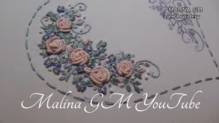 Embroidery: Rococo for beginners | Вышивка: Рококо для начинающих